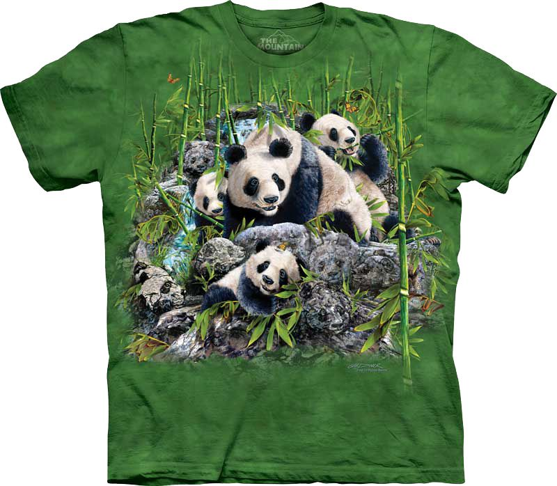 Футболка The Mountain - Find 13 Pandas