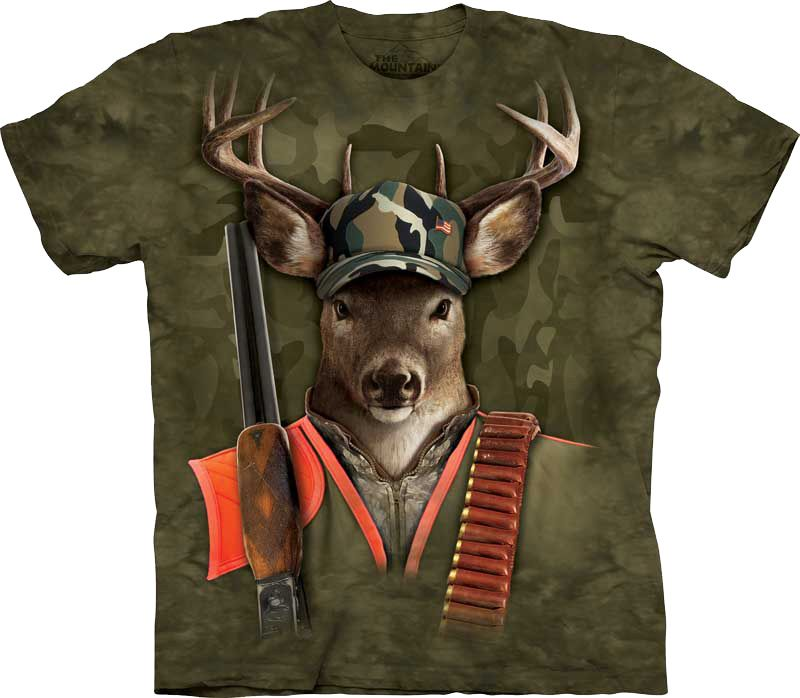 Футболка The Mountain - Hunter Buck