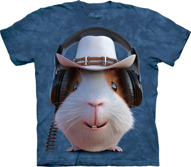 Футболка The Mountain - Guinea Pig Cowboy