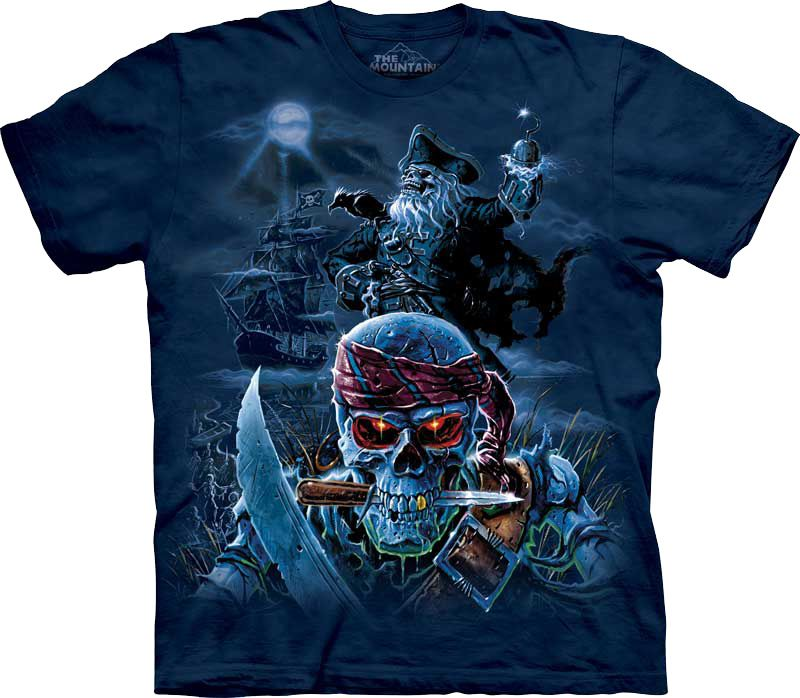 Футболка The Mountain - Zombie Pirates