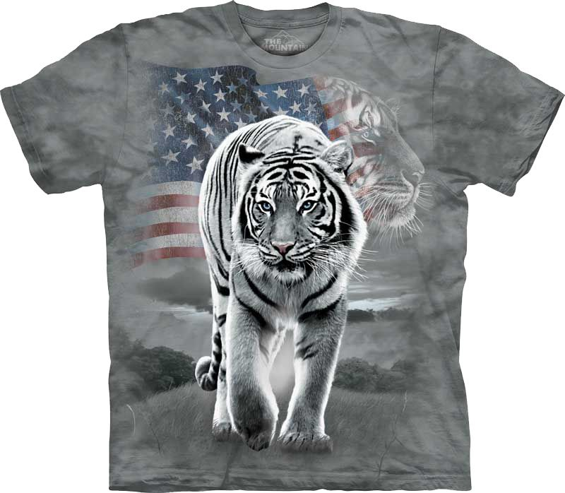 Футболка The Mountain - Patriotic Tiger
