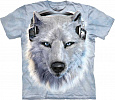 Футболка The Mountain - White Wolf DJ
