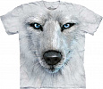 Футболка The Mountain - White Wolf Face