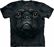 Футболка The Mountain - Black Pug Face