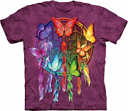 Футболка The Mountain - Rainbow Butterfly Dreamcatcher